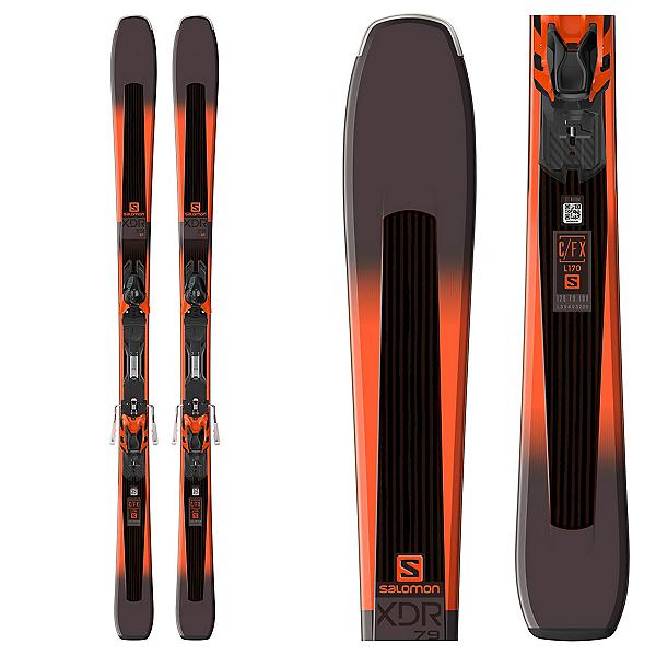 Salomon XDR 79 CF Skis with XT 10 Bindings 2018, , 600