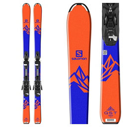 Salomon QST Max Jr. Kids Skis with L7 Ezytrak Bindings 2018, , 256