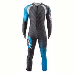 Arctica Youth Cup GS Race Suit, Blue-Silver, 256