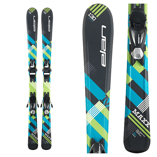 Elan Maxx Kids Skis with EL 4.5 Bindings 2018, , 600