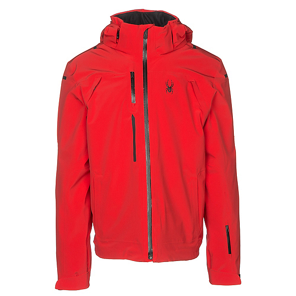 Spyder Alyeska Mens Insulated Ski Jacket, Red, 600