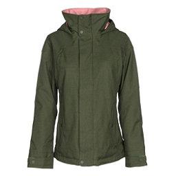 Burton Jet Set Womens Insulated Snowboard Jacket, Rifle Green, 256