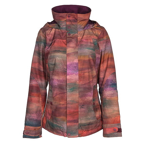 Burton Jet Set Womens Insulated Snowboard Jacket, Sedona, 600