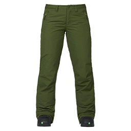 Burton Society Womens Snowboard Pants, Rifle Green, 256