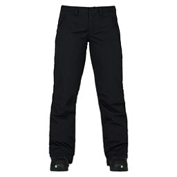 Burton Society Womens Snowboard Pants, True Black, 256