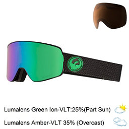 Dragon NFX2 Goggles 2018, Split-Lumalens Green Ion + Bonus Lens, 256