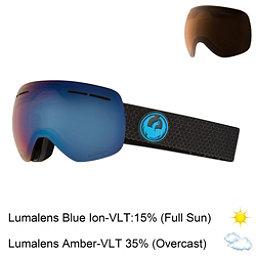 Dragon X1 S Goggles 2018, Split-Lumalens Blue Ion + Bonus Lens, 256