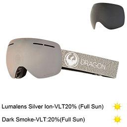 Dragon X1 S Goggles 2018, Mill-Lumalens Silver Ion + Bonus Lens, 256