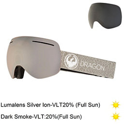 Dragon X1 Goggles 2018, Mill-Lumalens Silver Ion + Bonus Lens, 256