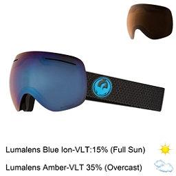 Dragon X1 Goggles 2018, Split-Lumalens Blue Ion + Bonus Lens, 256
