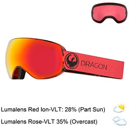 Dragon X2 S Goggles 2018, Mill-Lumalens Red Ion + Bonus Lens, 256