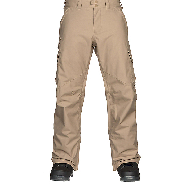 Burton Cargo Mens Snowboard Pants, Kelp, 600
