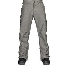 Burton Cargo Mens Snowboard Pants, Shade Heather, 256