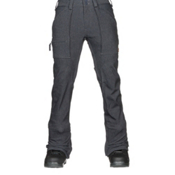 Burton Southside Slim Fit Mens Snowboard Pants, Denim, medium