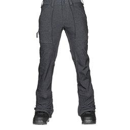Burton Southside Slim Fit Mens Snowboard Pants, Denim, 256