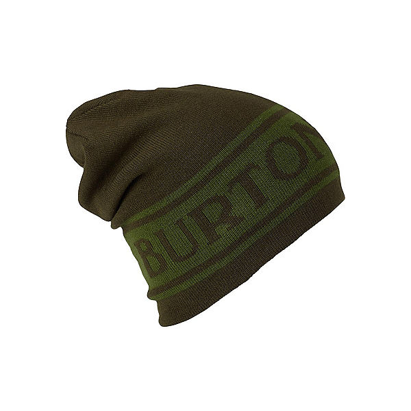 Burton Billboard Slouch Beanie Hat, Rifle Green-Kelp, 600