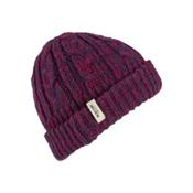 Burton Bone Cobra Beanie Womens Hat, Sangria-Mood Indigo, medium