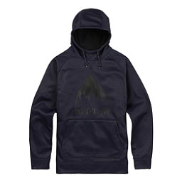 Burton Crown Bonded Pullover Mens Hoodie, Mood Indigo Heather, 256