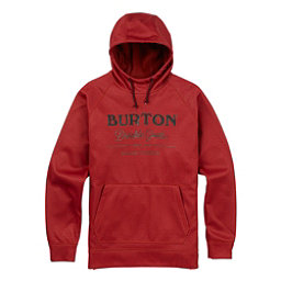 Burton Crown Bonded Pullover Mens Hoodie, Bitters Heather, 256