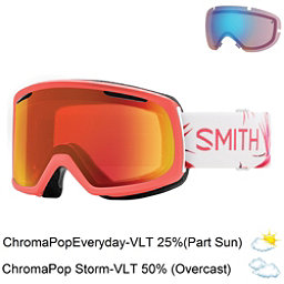 Smith Riot Womens Goggles 2018, Sunburst Zen-Chromapop Everyda + Bonus Lens, 256