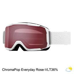 Smith Showcase Womens OTG Goggles 2018, White Mosaic-Chromapop Everyday Rose, 256