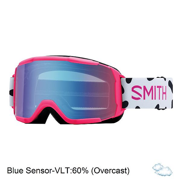 Smith Daredevil Girls Goggles 2018, Pink Jam-Blue Sensor Mirror, 600