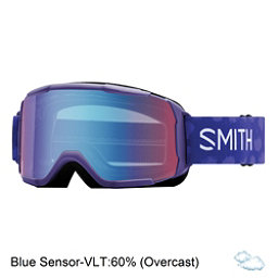Smith Daredevil Girls Goggles 2018, Ultraviolet Brush Dots-Blue Se, 256