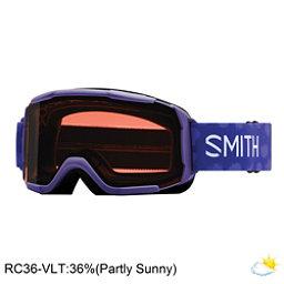 Smith Daredevil Girls Goggles 2018, Ultraviolet Brush Dots-Rc36, 256