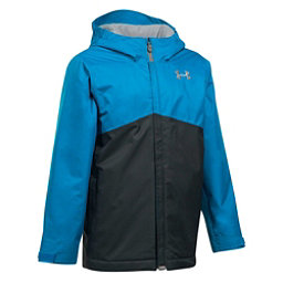 Under Armour ColdGear Infrared Freshies Boys Ski Jacket, Cruise Blue-Anthracite, 256