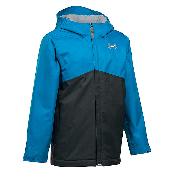 Under Armour ColdGear Infrared Freshies Boys Ski Jacket, Cruise Blue-Anthracite, 600