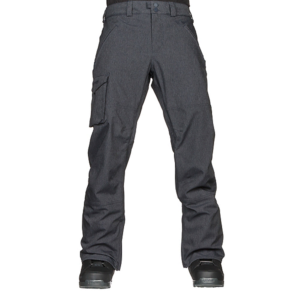 Burton Covert Mens Snowboard Pants, Denim, 600