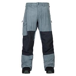 Burton Covert Mens Snowboard Pants, La Sky Distress-Denim, 256