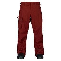 Burton Covert Mens Snowboard Pants, Fired Brick, 256