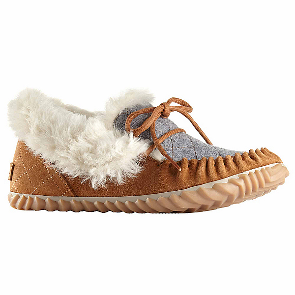 Sorel Out N About Moc Womens Slippers, Elk, 600