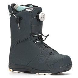 Flow Lunar Hybrid Boa Womens Snowboard Boots, Gunmetal, 256