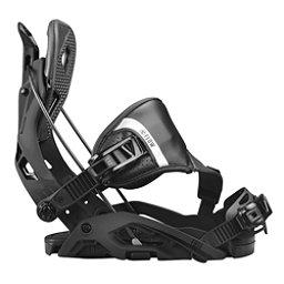 Flow Fuse Hybrid Snowboard Bindings, Black, 256