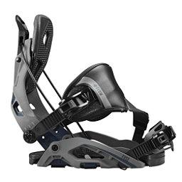 Flow Fuse Hybrid Snowboard Bindings, Gunmetal, 256