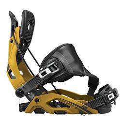 Flow Fuse Hybrid Snowboard Bindings, Mustard, 256
