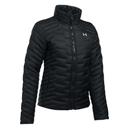 Under Armour ColdGear Reactor Womens Jacket, Black-Glacier Gray, 256