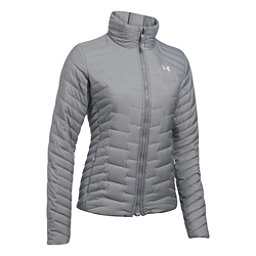Under Armour ColdGear Reactor Womens Jacket, True Gray Heather-Overcast Gra, 256