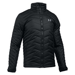 Under Armour ColdGear Reactor Mens Jacket, Black-Steel, 256