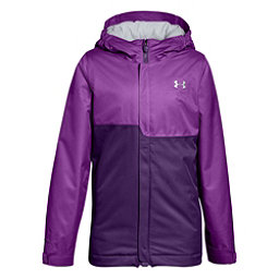 Under Armour ColdGear Infrared Freshies Rideable Girls Ski Jacket, Purple Rave-Indulge, 256
