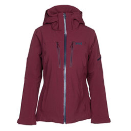 Helly Hansen Motionista Womens Insulated Ski Jacket, Port, 256