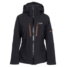Helly Hansen Motionista Womens Insulated Ski Jacket, Black, 256