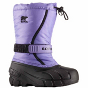 Sorel Flurry Girls Boots, Paisley Purple-Black, medium