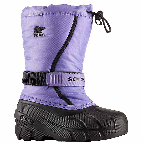 Sorel Flurry Girls Boots, Paisley Purple-Black, 600