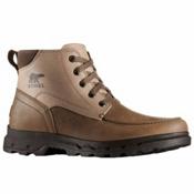 Sorel Portzman Moc Toe Mens Boots, Major-Concrete, medium