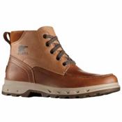 Sorel Portzman Moc Toe Mens Boots, Elk-Ancient Fossil, medium