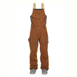 Picture Yakoumo.2 Bib Mens Ski Pants, Brown, 256
