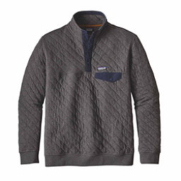 Patagonia Cotton Quilt Snap-T Mens Mid Layer, Forge Grey, 256